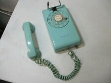 Vintage Stromberg bLUE Wall Phone Shell Used ( Untested)