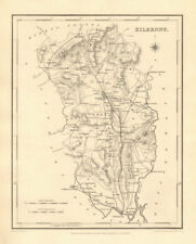 COUNTY KILKENNY antique map for LEWIS by CREIGHTON & DOWER - Ireland 1846