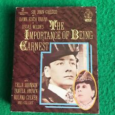 The Importance of Being Earnest [1954] Audiobook Cassettes