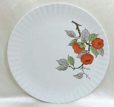 WUNSIEDEL Serving Platter Chop Plate Bavaria Germany Porcelain Orange Flowers