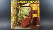 """Walter Brennan """"Mama Sang A Song""""  LP"""