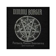 Dimmu Borgir Puritanical Euphoric Misanthropia Patch Metal Woven Sew On Applique