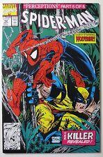Spider-Man #12 (Jul 1991, Marvel) (C5222) Perceptions Part 5 of 5 Todd McFarlane