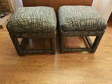 Mid Century Modern Pair of Milo Baughman Parson Style Benches-Eames, Knoll, Era