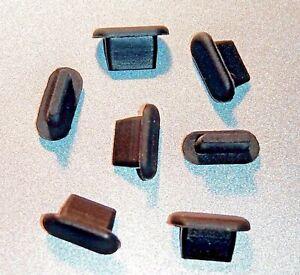 7x tappo gommino antipolvere per IPHONE 13 / 13 MINI / 13 PRO / 13 PRO MAX