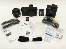 Nikon 1 V1 Mirrorless Digital Camera Kit w/ 10-30mm Lens (Black)  New Open Box!