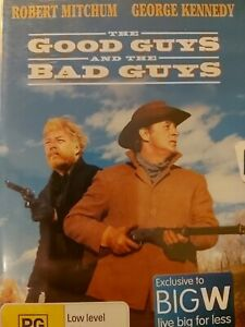DVD - The Good Guys and the Bad Guys - FREE POST