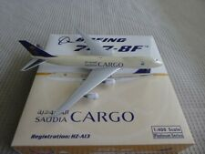 SAUDIA CARGO BOEING 747-8F HZ-A13 PHOENIX 1:400 (READ) NEAR NEW MINOR ISSUES