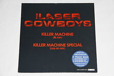 "The Laser Cowboys ""Killer Machine (Re-Mix)""  Maxi Single 12"" Vinyl No.4856 Rare"