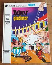 RARE EO 1977 UDERZO + GOSCINNY : ASTÉRIX GLADIATOR + VERSION EN LATIN + LEXIQUE