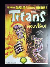Titans N°35 TBE Lug Comics Semic Marvel