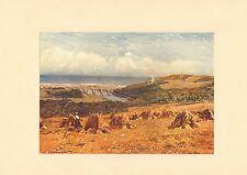 "original 1902 colour print  "" banff bridge "" robert w.allan"