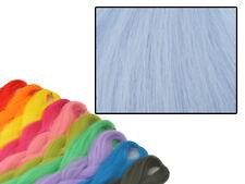 CYBERLOXSHOP PHANTASIA KANEKALON JUMBO BRAID LIGHT GREY BLUE HAIR DREADS