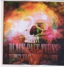(DC440) Black Page Turns, Thing That Make Us Hate - 2012 DJ CD