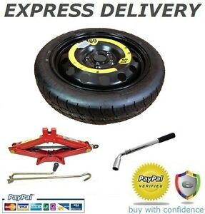 "16"" SPACE SAVER SPARE WHEEL + TOOL KIT FITS SKODA FABIA 2007-PRESENT DAY"