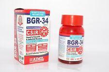 4 X HERBAL BGR-34 TABLETS Blood Glucose Metaboliser Ayurvedic Antioxidant