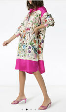 Gucci Floral Twill Dress- With Tags- RRP$4,560AUD