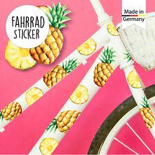 Adesivi Bicicletta 39Stk Ananas Frutta Estate Bambini