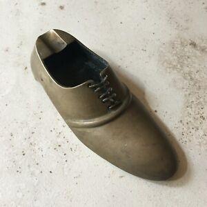 Cendrier Soulier Chaussure Laiton - Vintage
