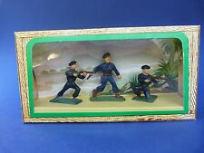 STARLUX - Ancienne boîte 3 chasseurs alpins 54mm - plastic toy soldier