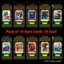 Coin Master Cards Pack of 10X Rare Cards