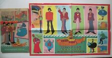 BEATLES - 1968 Gold Key Yellow Submarine Comic with POSTER - Please Read