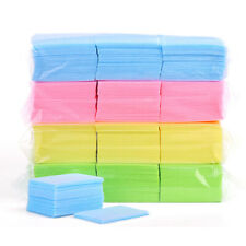 1000PCS Disposable Cotton Nail Wipes Pads Removing UV LED Gel Cleaner Lint Free