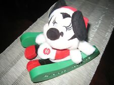 Disney Minnie Mouse Animated & Lighted Sleigh Pals- New/Free Shipping!