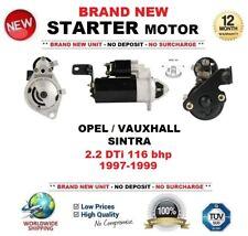 Para Opel Vauxhall Sintra 2.2 DTI 116 Cv 1997-1999 Motor Arranque 2.0 kW 10 dientes
