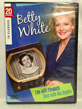 BETTY WHITE - 20 Classic TV Episodes, Life with Elizabeth & Date w/ Angels  NEW!
