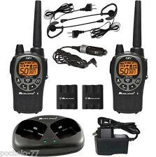 2 walkie Talkies Midland Gxt1000 cargador micro auricular manos libres 5W 56km