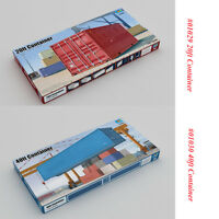 Trumpeter 01029 01030 1/35 Scale 20ft/40ft Container CHINA SHIPPING Model Kits