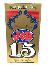 Full Box - JOB Gold 1.5 Cigarette Rolling Papers - FREE SHIPPING
