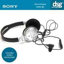 GENUINE SONY ERICSSON HPM-85 - FOLDABLE STEREO HEADPHONES BLACK / SILVER