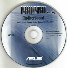 ASUS P4P8X Motherboard Drivers Installation Disk M329