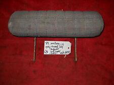 LX GT TWEED BUCKET FRONT SEAT LEG KNEE ADJUSTABLE SUPPORT BOLSTER EXTENSION #724