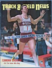 1985 Track and Field News Eamonn Coghlan Millrose Games Indoor Mile King