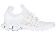 NIB NIKE Womens 8.5 SHOX GRAVITY AQ8554 100 WHITE RUNNING LIFESTYLE SHOES $150