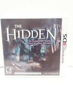 The Hidden (Nintendo 3DS) BRAND NEW FACTORY SEALED!! FAST SHIPPING!!