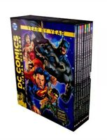 DC Comics A Visual History 8 Book Box Set Children Collection Year By Year NEW