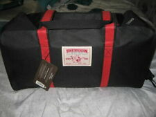 TRUE RELIGION Black Duffel Travel Bag - Weekend Bag Brand New With Tags Sealed