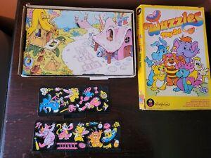 Vintage Wuzzles Play Set_1985 _Hasbro_Colorforms