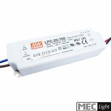 LED Netzteil - Trafo 700mA Konstantstrom 21W 9-30V DC MEANWELL (LPC-20-700) IP67
