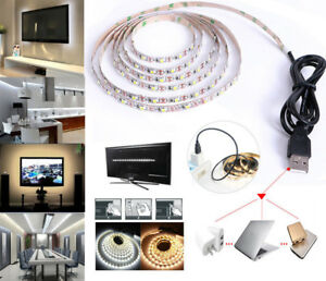 1M/2M/3M/4M/5M 5V 2835 SMD USB Power LED Strip Decor String Light TV Background