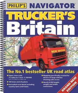 Philip's Navigator Trucker's Britain (Spiral bound Book)