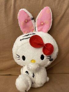Hello Kitty In Bunny Costume Plush
