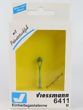 6411 VIESSMANN - ESCALA N / FAROL GAS 35MM. N / N Standard gas lamp, green