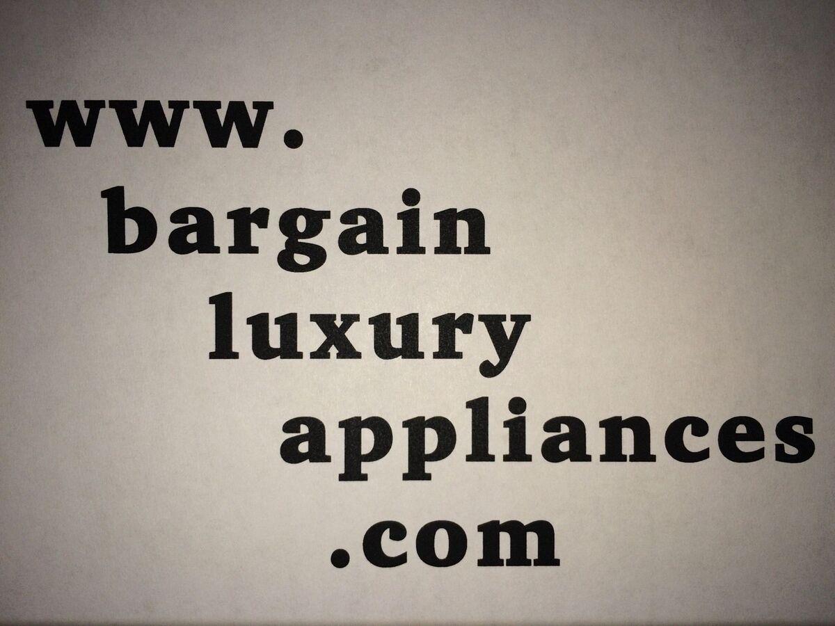 bargainluxuryappliances
