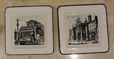 Ville Ceramic Decorative Plates Made in Italy