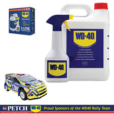 Genuine WD40 5 Litre High Performance Spray Lubricant + APPLICATOR SPRAY WD-40